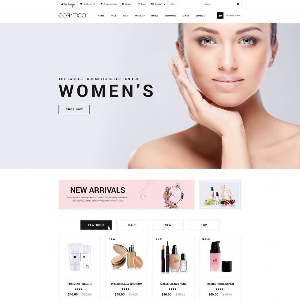 theme - Saúde & Beleza - Cosmetico - Loja de Cosméticos - 1
