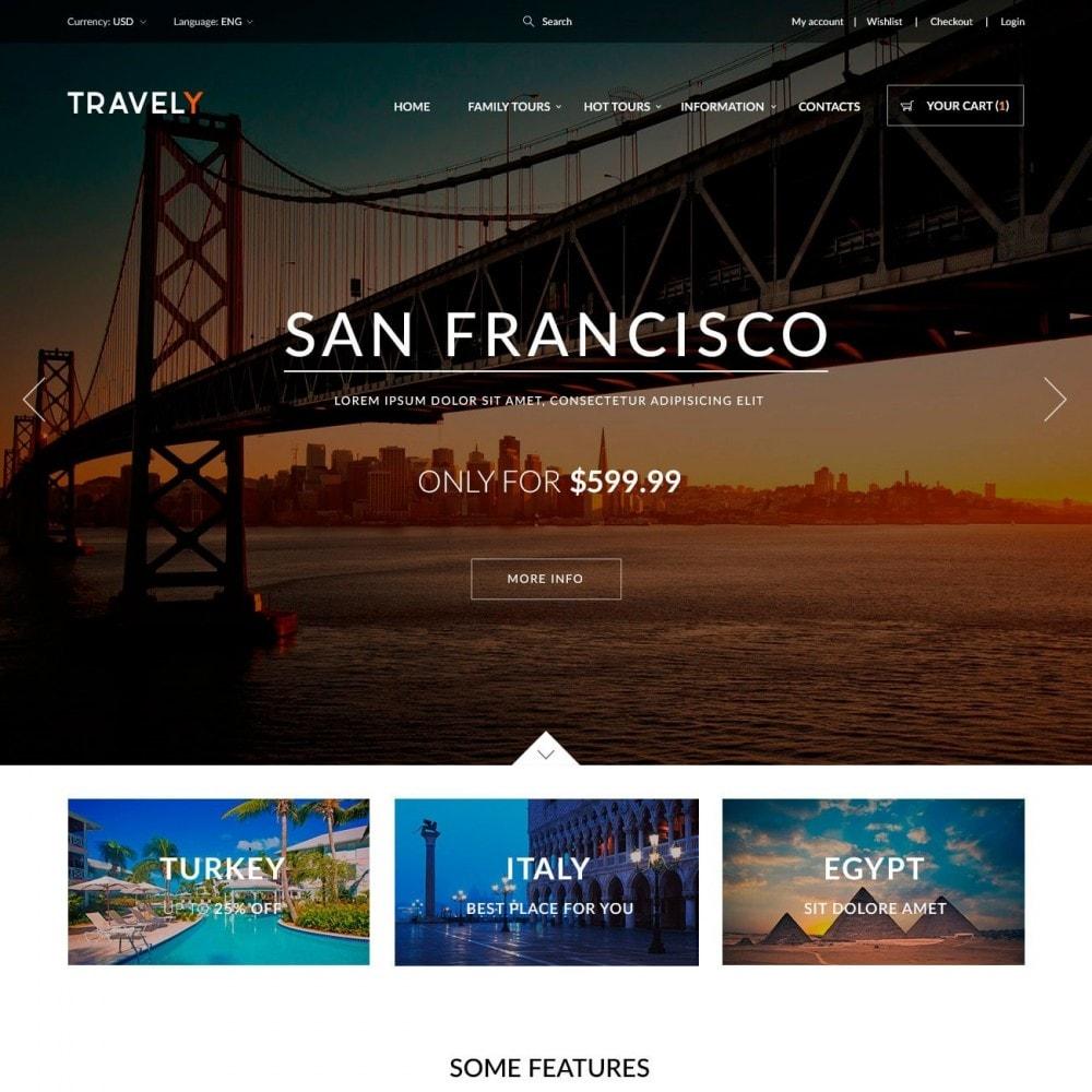 theme - Deportes, Actividades y Viajes - Travely - Tienda de viajes - 2