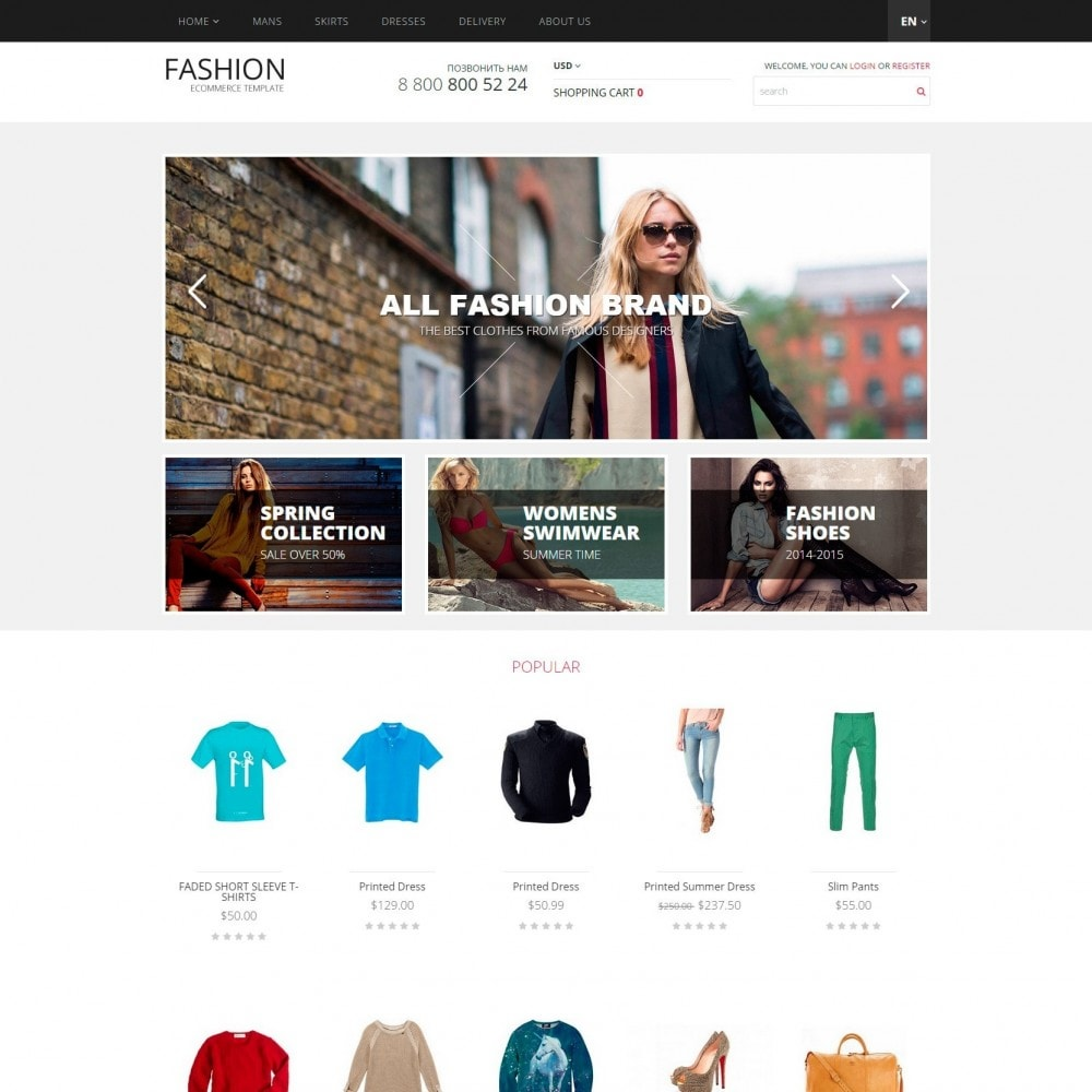theme - Moda y Calzado - Fashion - Tienda de ropa - 2