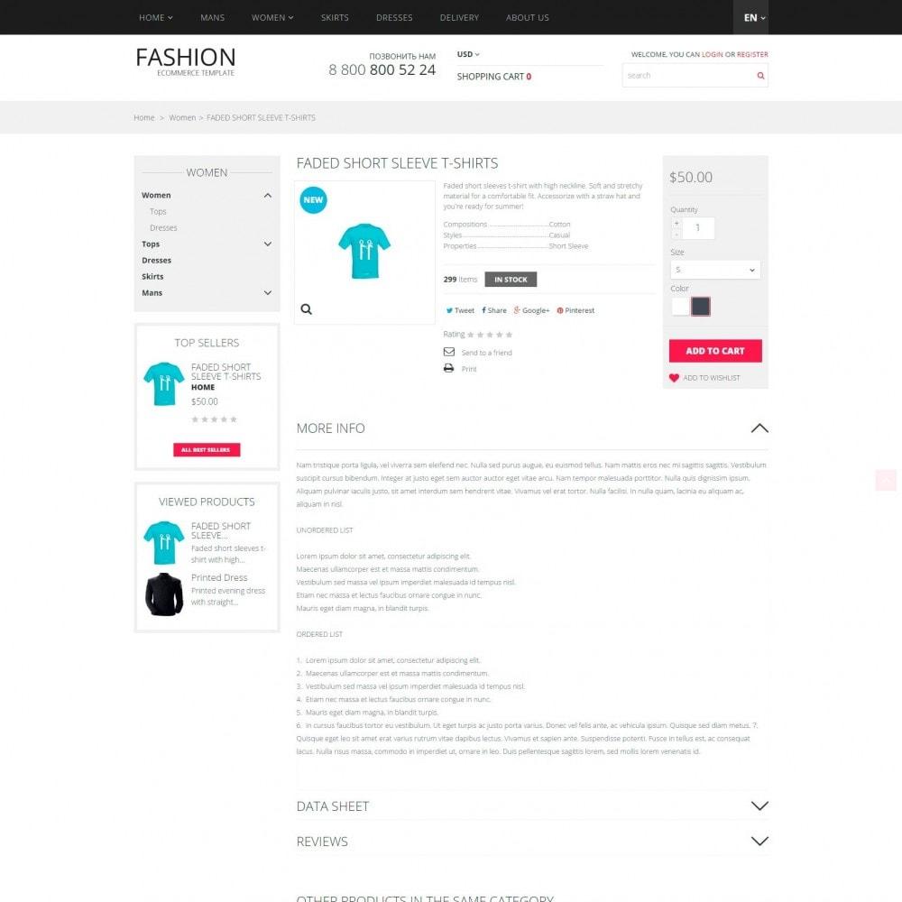 theme - Moda y Calzado - Fashion - Tienda de ropa - 4