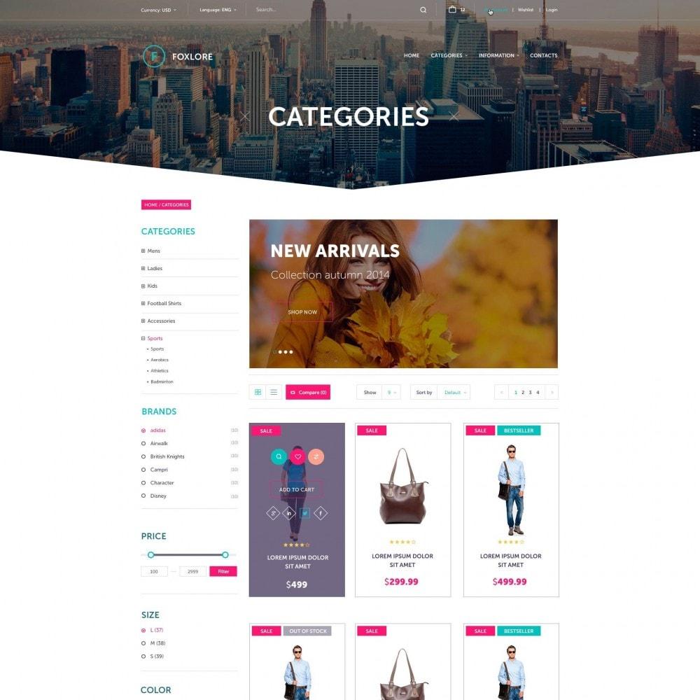 theme - Moda y Calzado - Foxlore - Lujo para una Tienda de ropa - 3