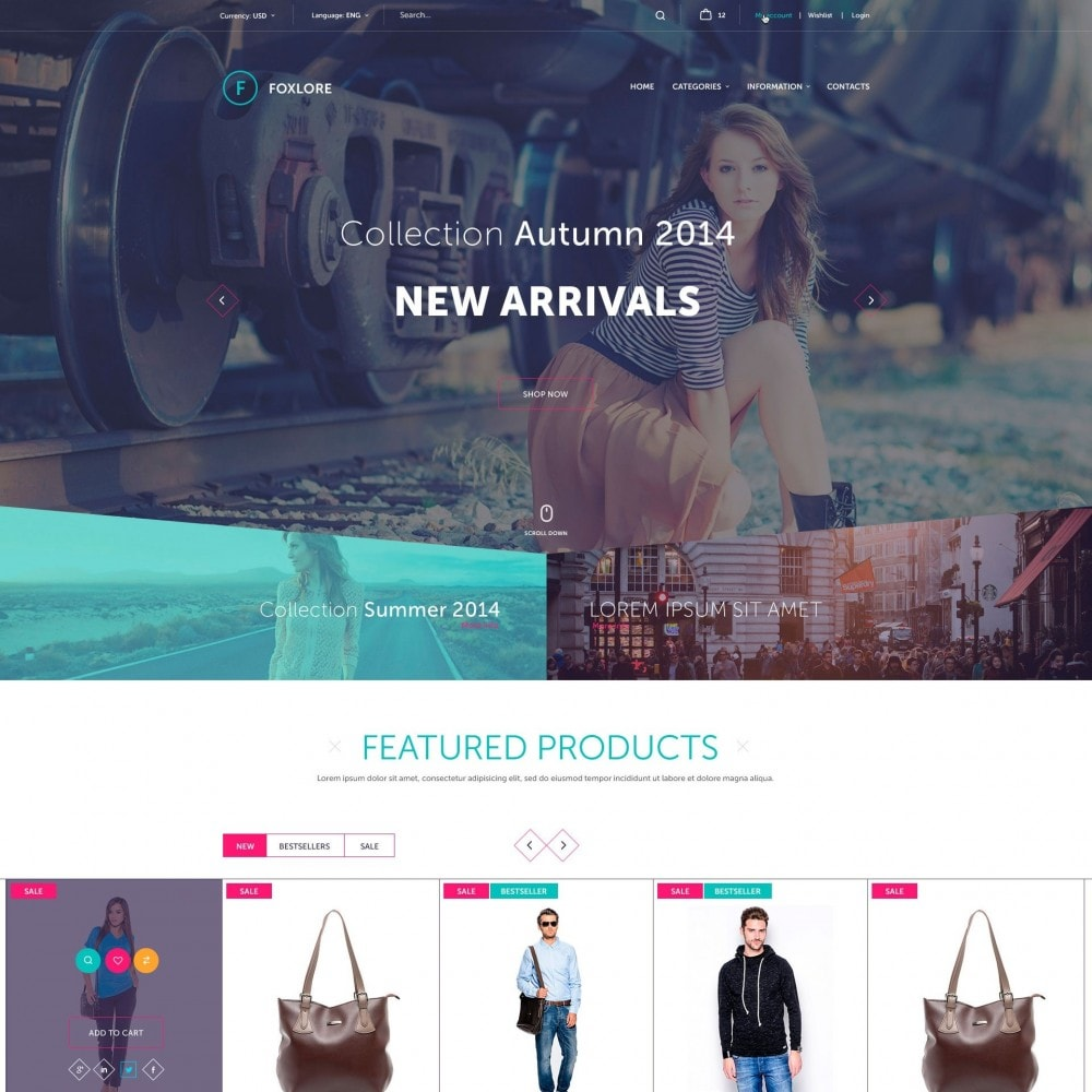 theme - Mode & Schuhe - Foxlore - für ein Bekleidungsgeschäft - 2