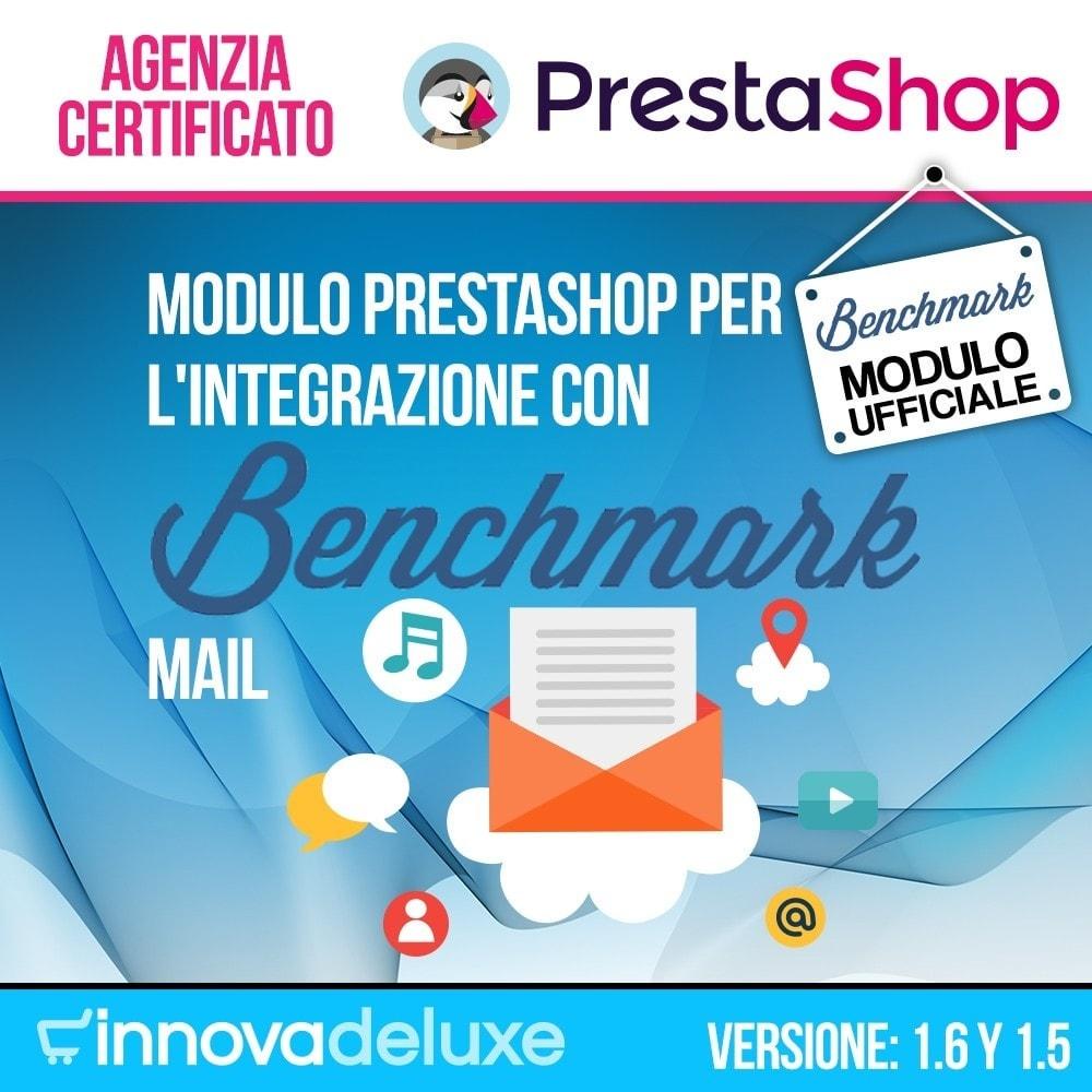 module - Email & Notifiche - Integrazione Benchmark Mail Marketing - 1