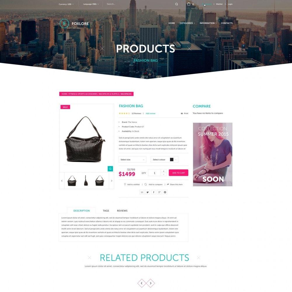 theme - Moda & Calzature - Foxlore - per un Vestiario negozio - 4