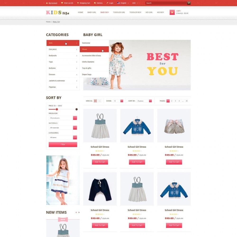 theme - Bambini & Giocattoli - Kids - Abbigliamento per Bambini Negozio - 3
