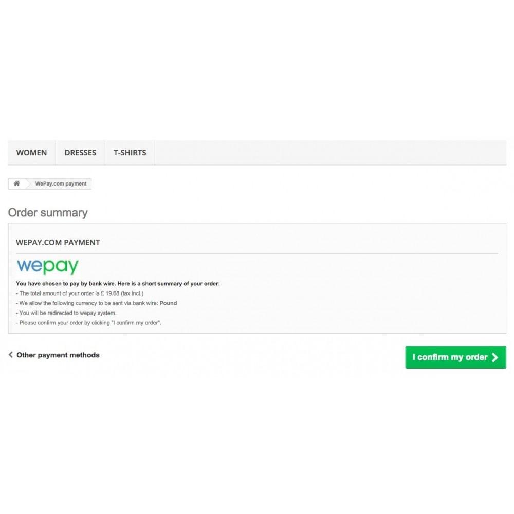 module - Оплата банковской картой или с помощью электронного кошелька - Wepay Payments - 4