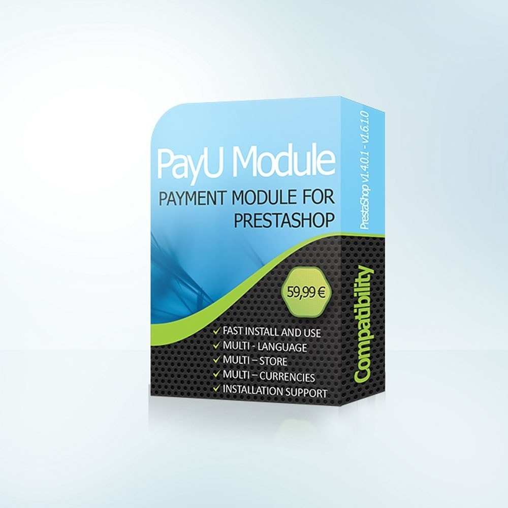module - Pagamento por cartão ou por carteira - PayU Romania,Turkey, Russia, Hungary, Ukraine - 1