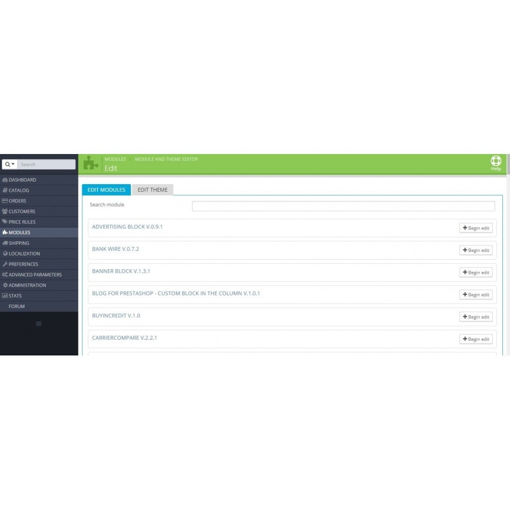 module - Адаптация страницы - Редактирование модулей и темы - 5