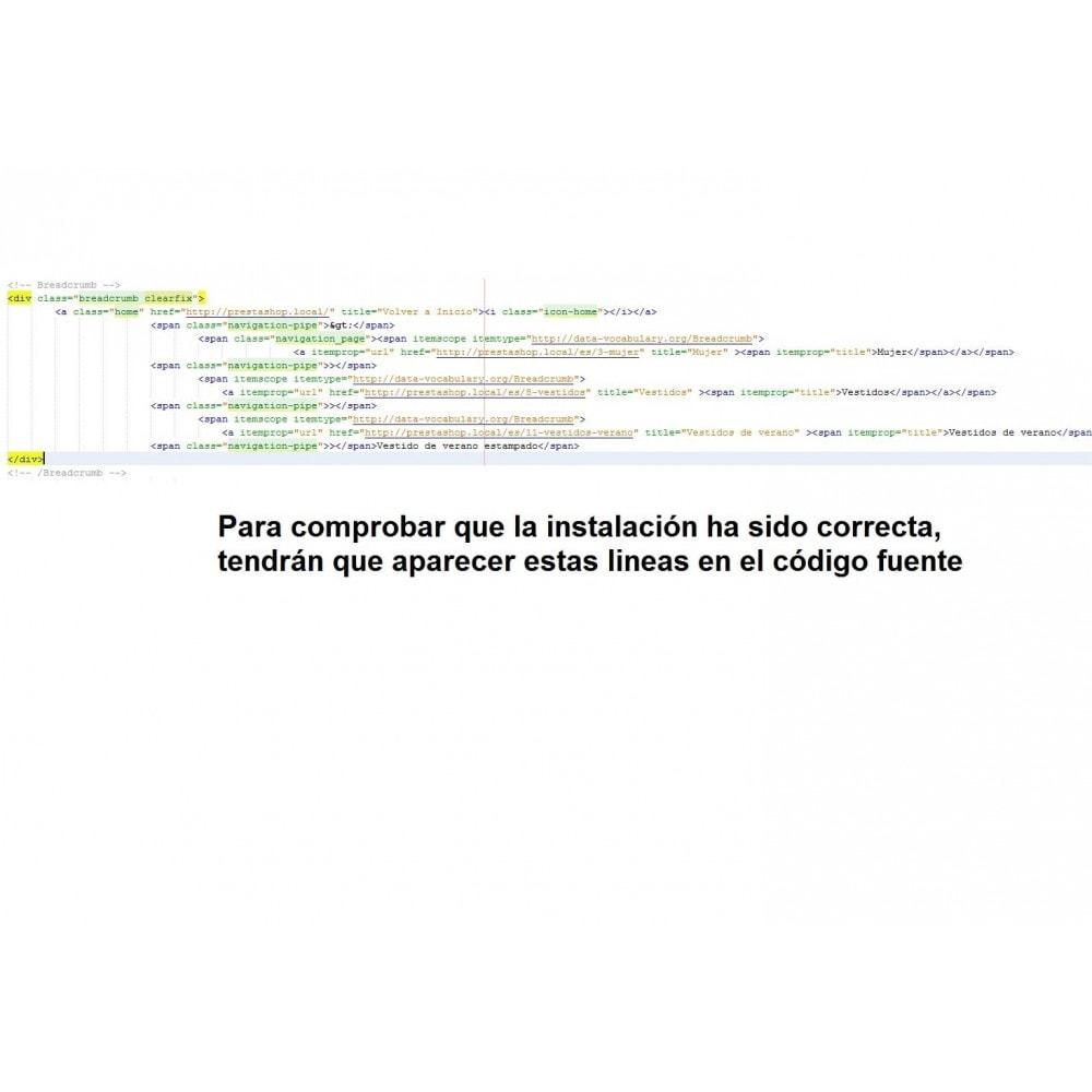 module - SEA SEM pago & Filiação - Breadcrumbs microdata - PrestAyuda.es - 1