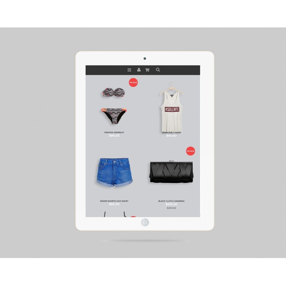 theme - Fashion & Shoes - Glam Prestashop 1.6 Responsive Template - 5