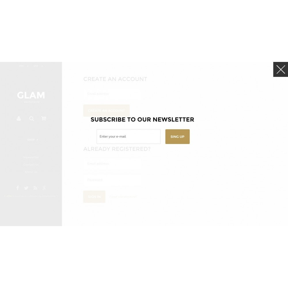 theme - Fashion & Shoes - Glam Prestashop 1.6 Responsive Template - 14