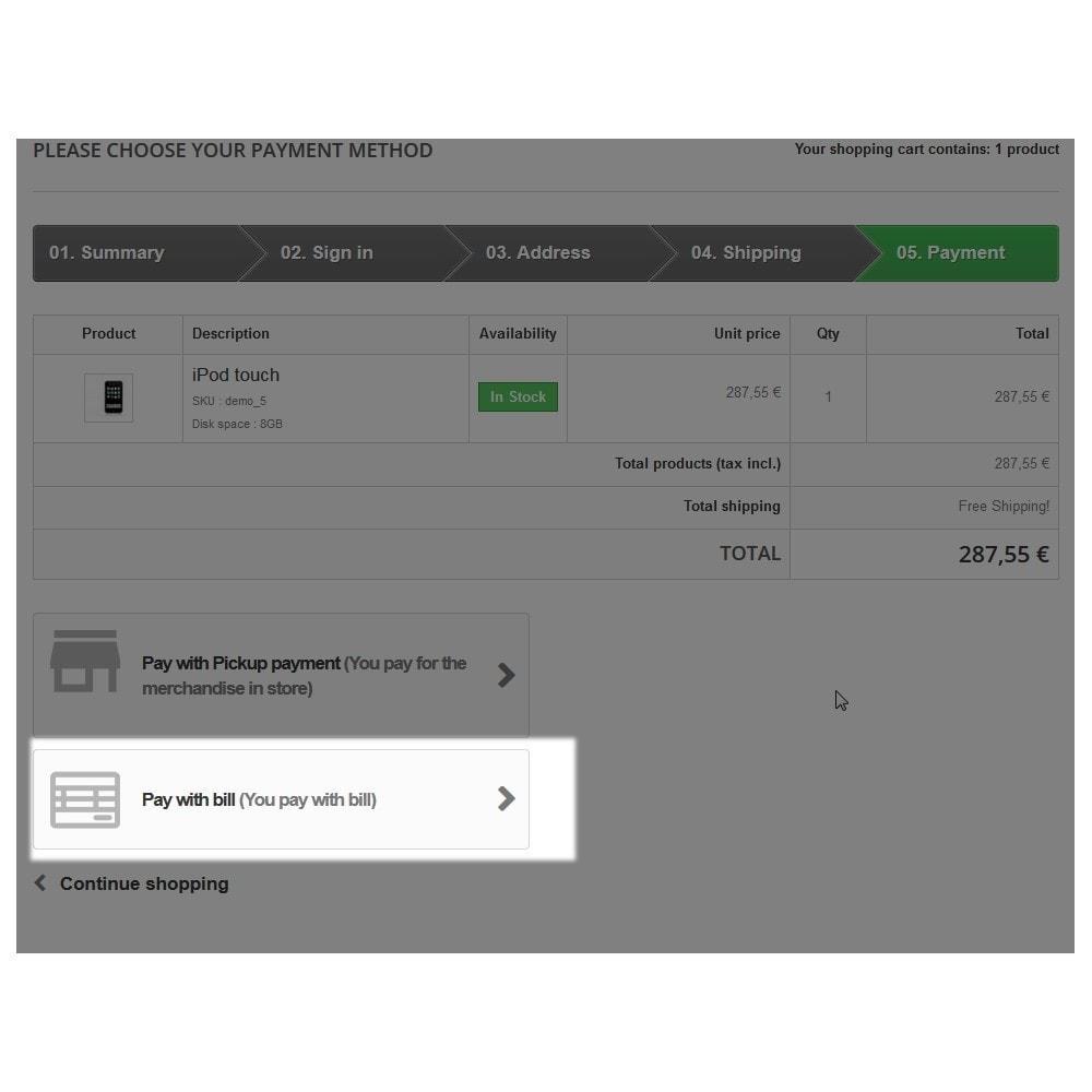 module - Płatność przy użyciu faktury - Płatność faktura - 6