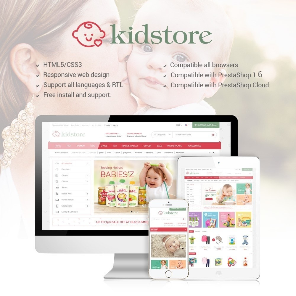 theme - Kids & Toys - Kidstore - Kids & Children Store - 1