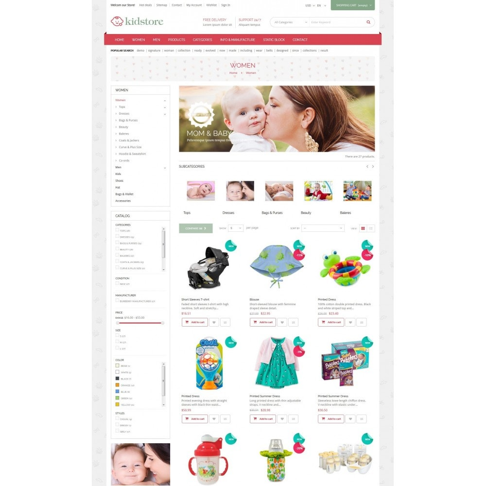 theme - Kids & Toys - Kidstore - Kids & Children Store - 4