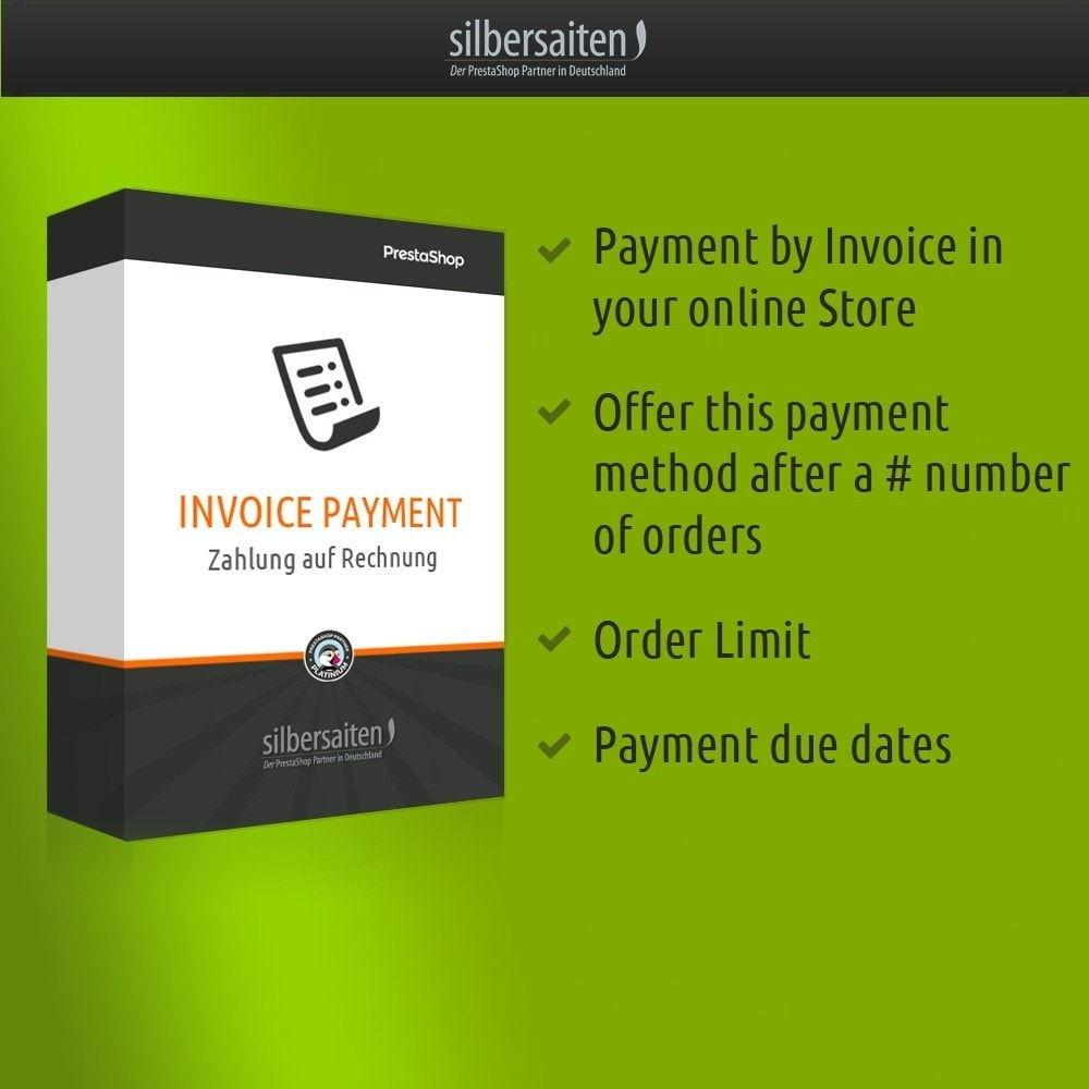 Invoice Payment PrestaShop Addons - Creating a invoice tobacco online store