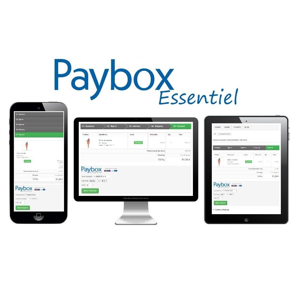 module - Paiement par Carte ou Wallet - Verifone E-commerce (Paybox Essentiel) - 1.5, 1.6 & 1.7 - 2