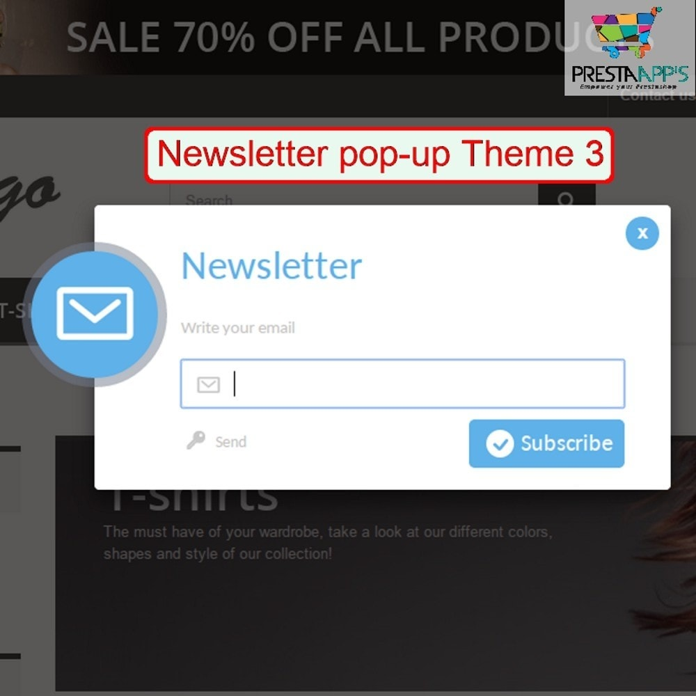 module - Pop-up - Newsletter PopUp - 1