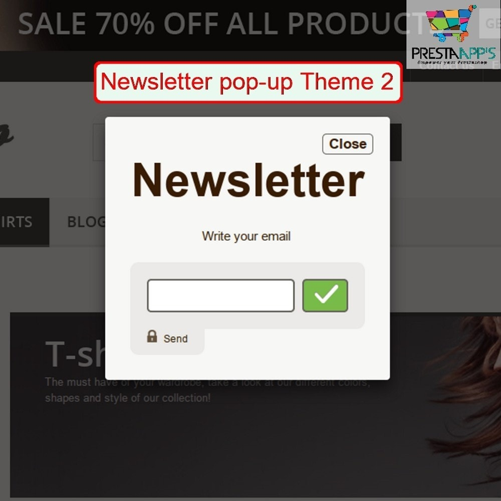 module - Pop-up - Newsletter PopUp - 3