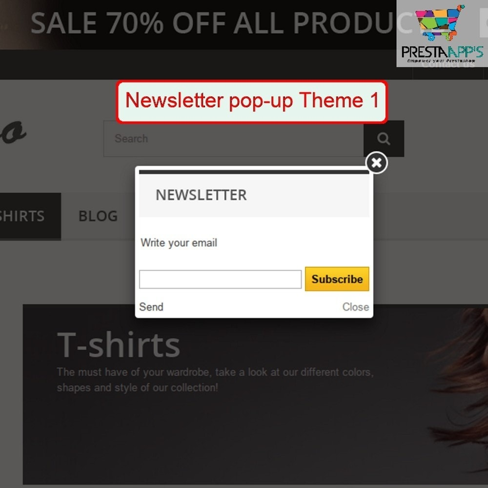 module - Pop-up - Newsletter PopUp - 4