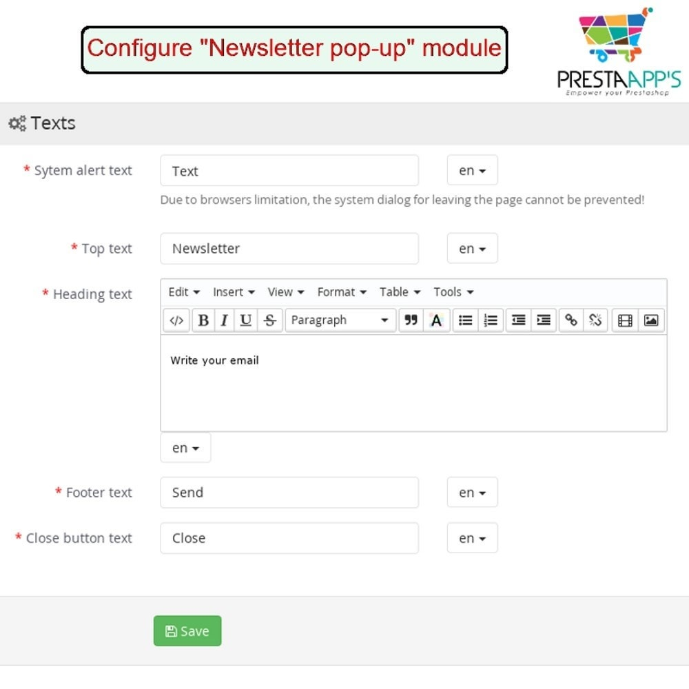 module - Pop-up - Newsletter PopUp - 9