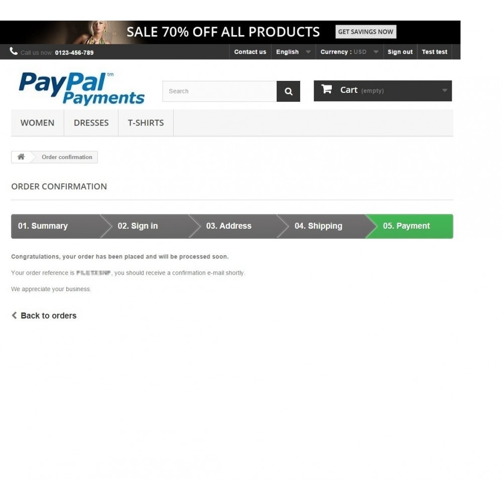 module - Creditcardbetaling of Walletbetaling - PayPal Direct Payments - 6