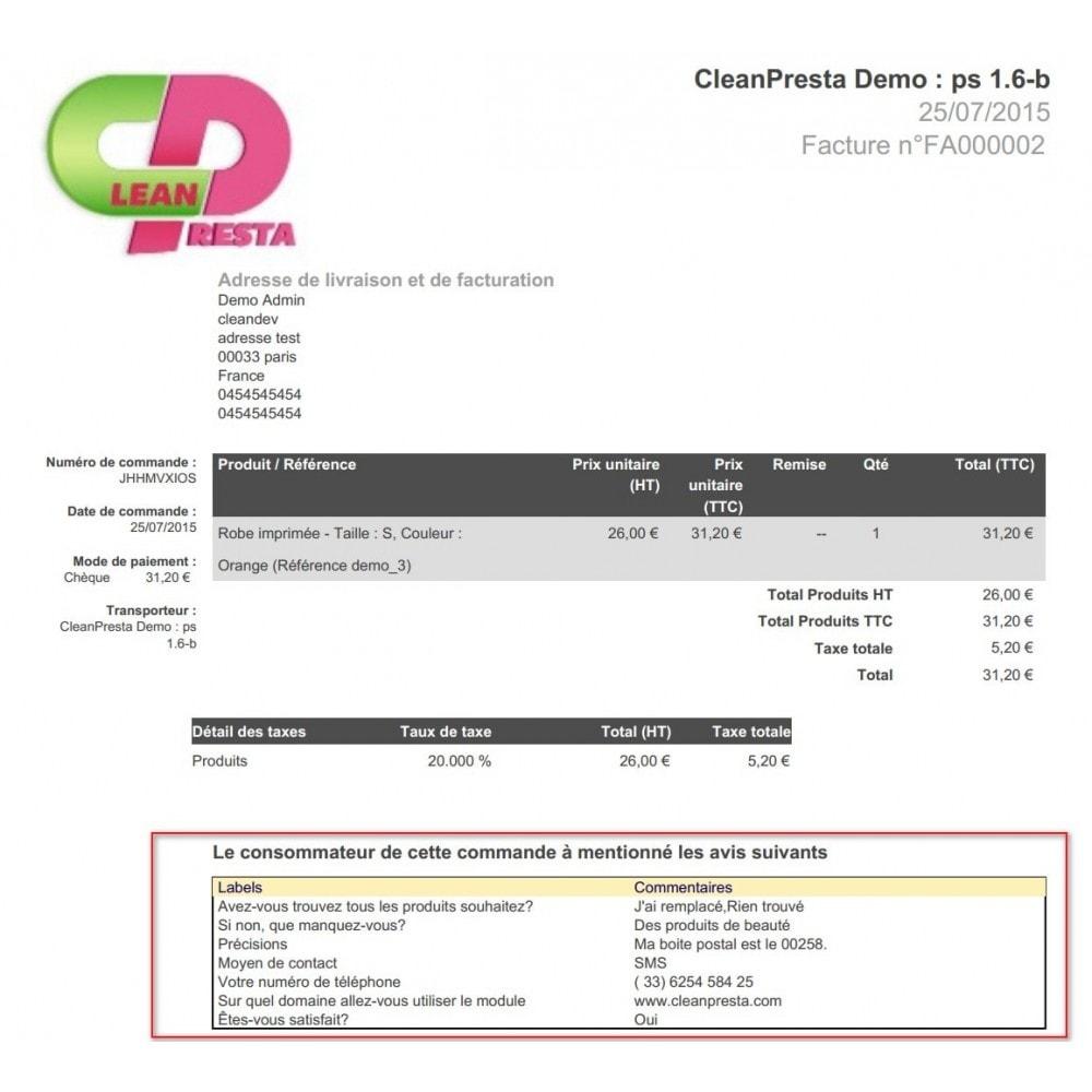 module - Anmeldung und Bestellvorgang - Custom Fields during the ordering process - 7