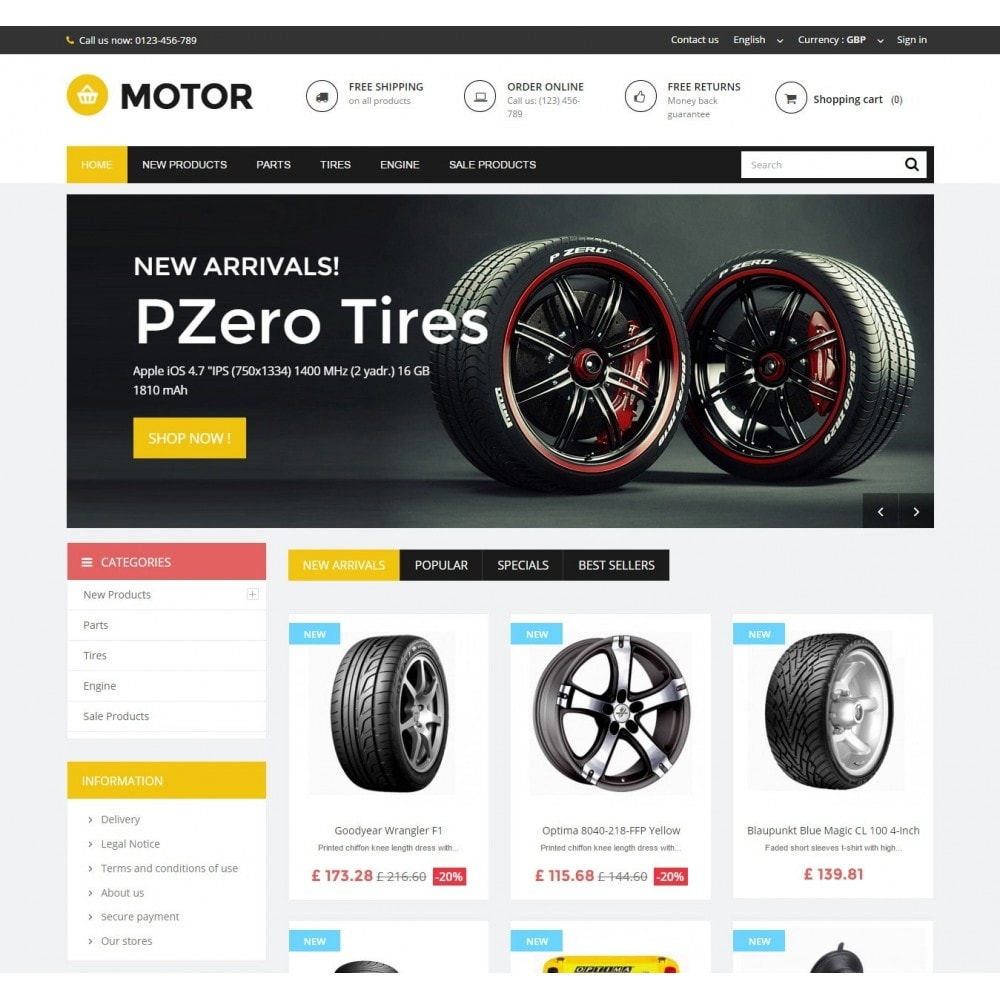 theme - Carros & Motos - AUTO 1.6 Responsive - 2