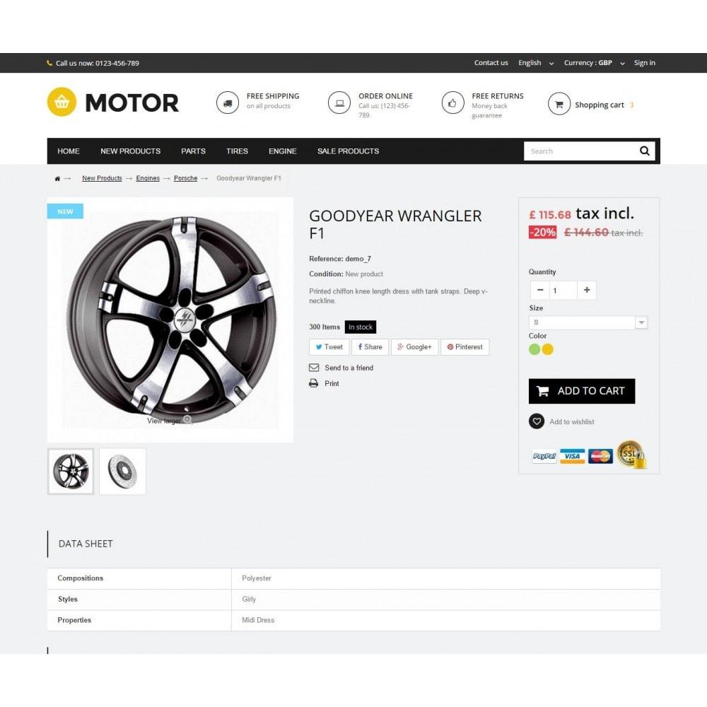 theme - Carros & Motos - AUTO 1.6 Responsive - 7
