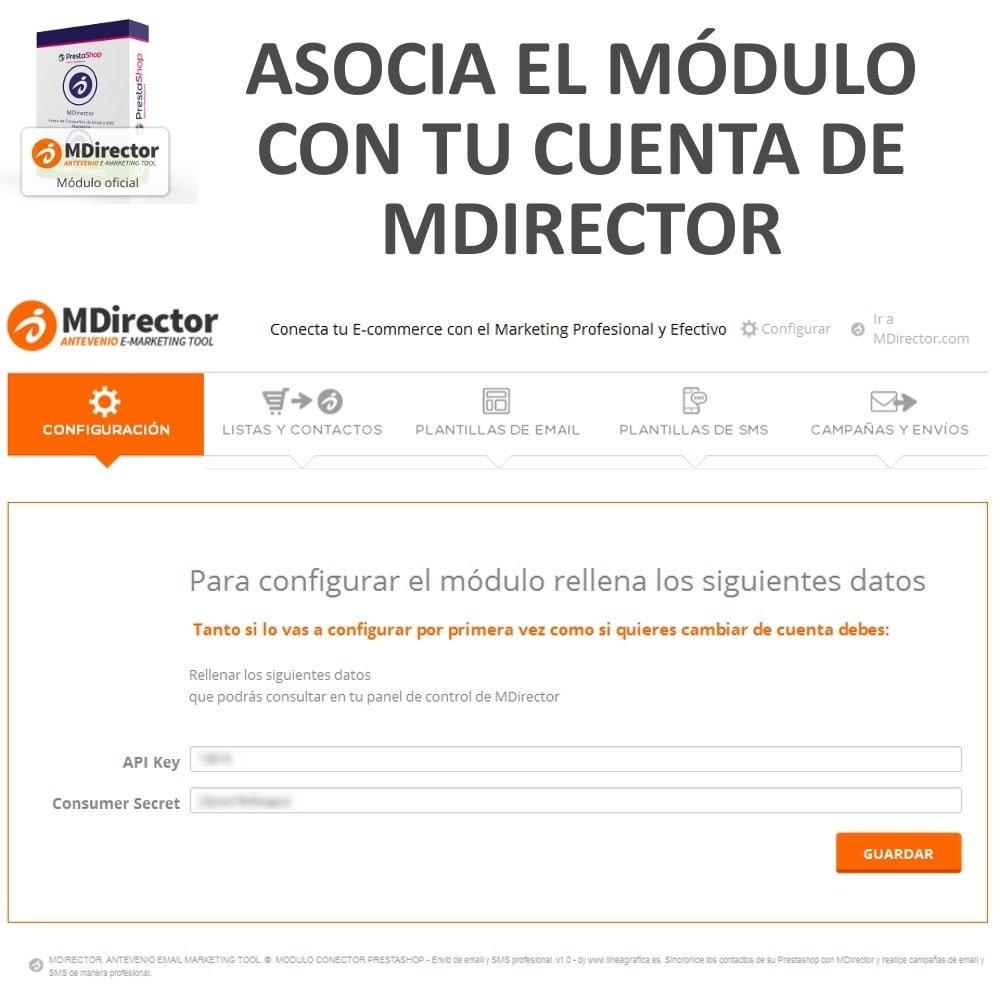 module - Newsletter y SMS - MDirector - Envío de Campañas de Email y SMS Marketing - 2