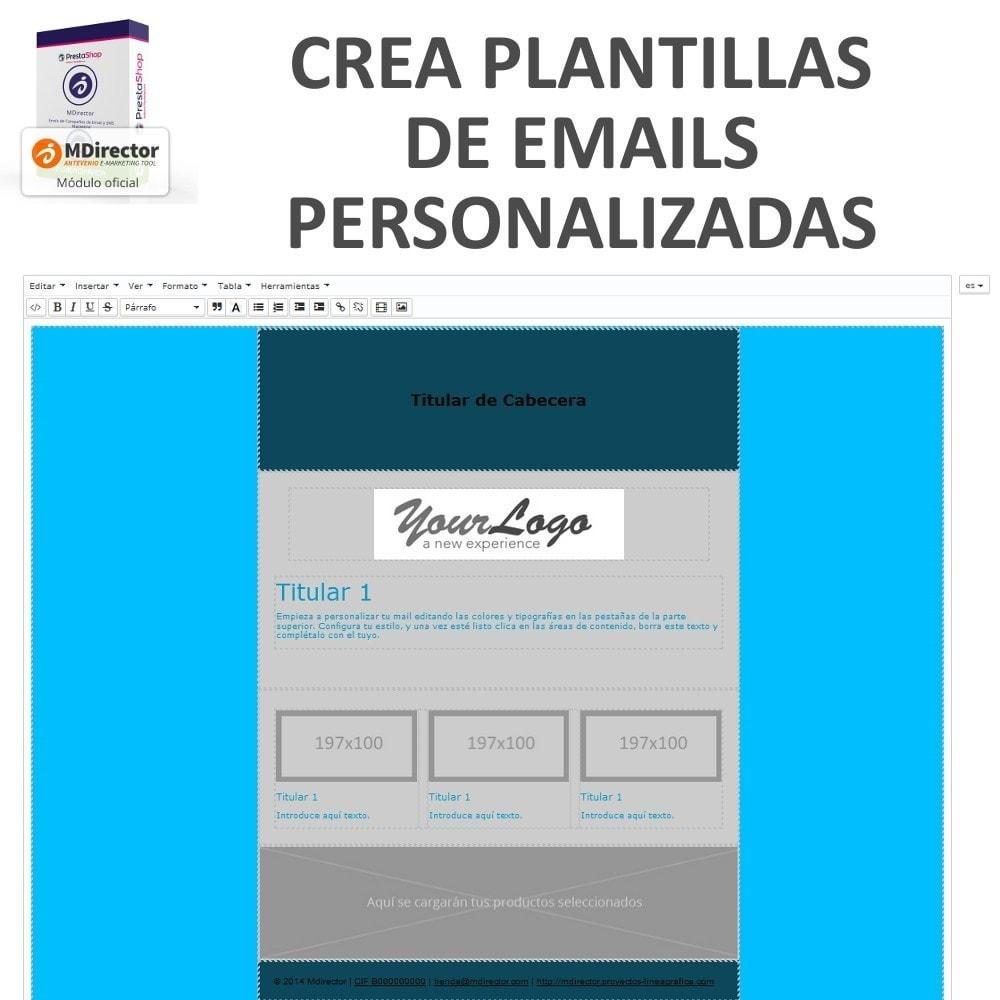 module - Newsletter y SMS - MDirector - Envío de Campañas de Email y SMS Marketing - 5