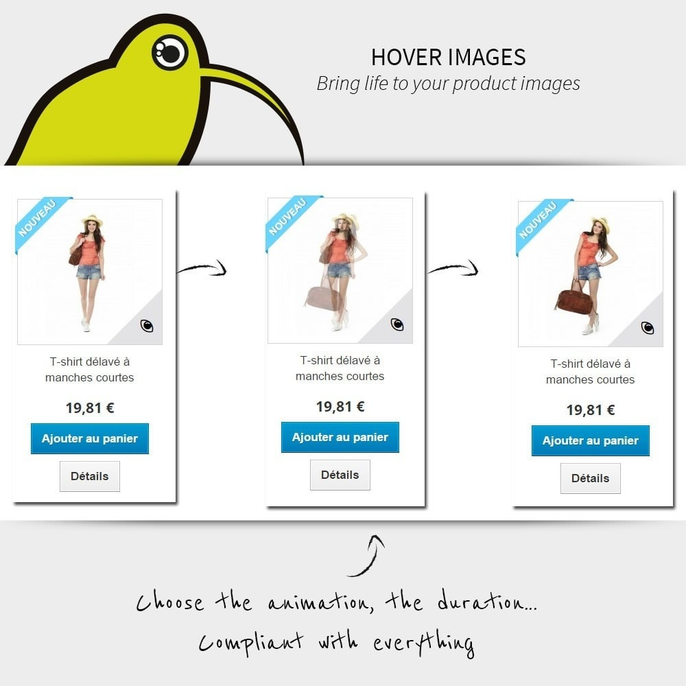module - Produktvisualisierung - Hover Images | Rollover - 1