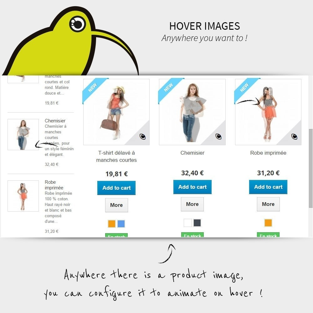 module - Produktvisualisierung - Hover Images | Rollover - 3
