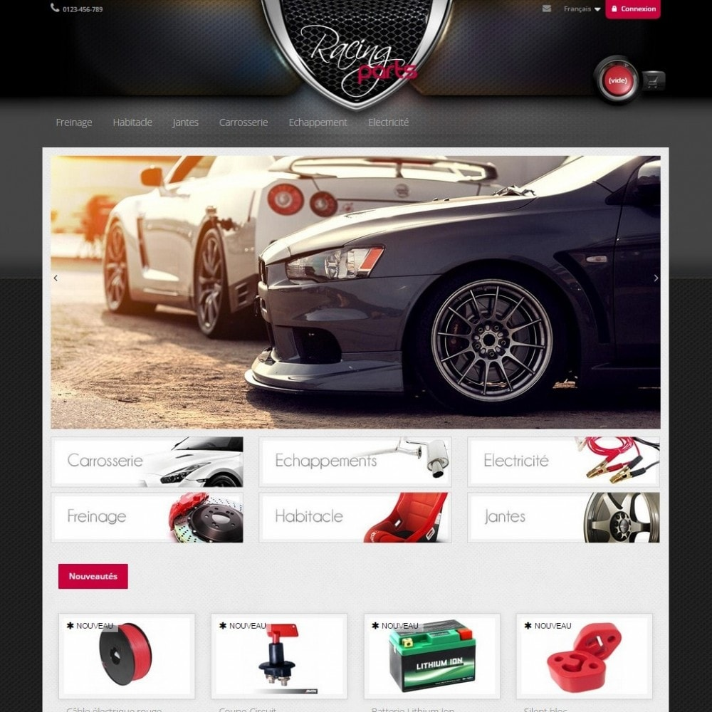 theme - Auto & Moto - Racing Parts - 2