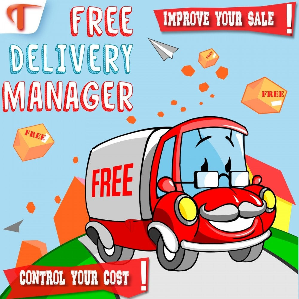 module - Стоимость доставки - Free Delivery Manager - 1