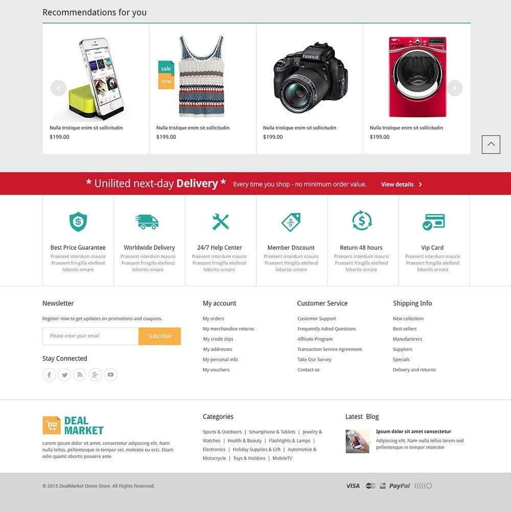 theme - Мода и обувь - DealMarket - Fashion Store - 3