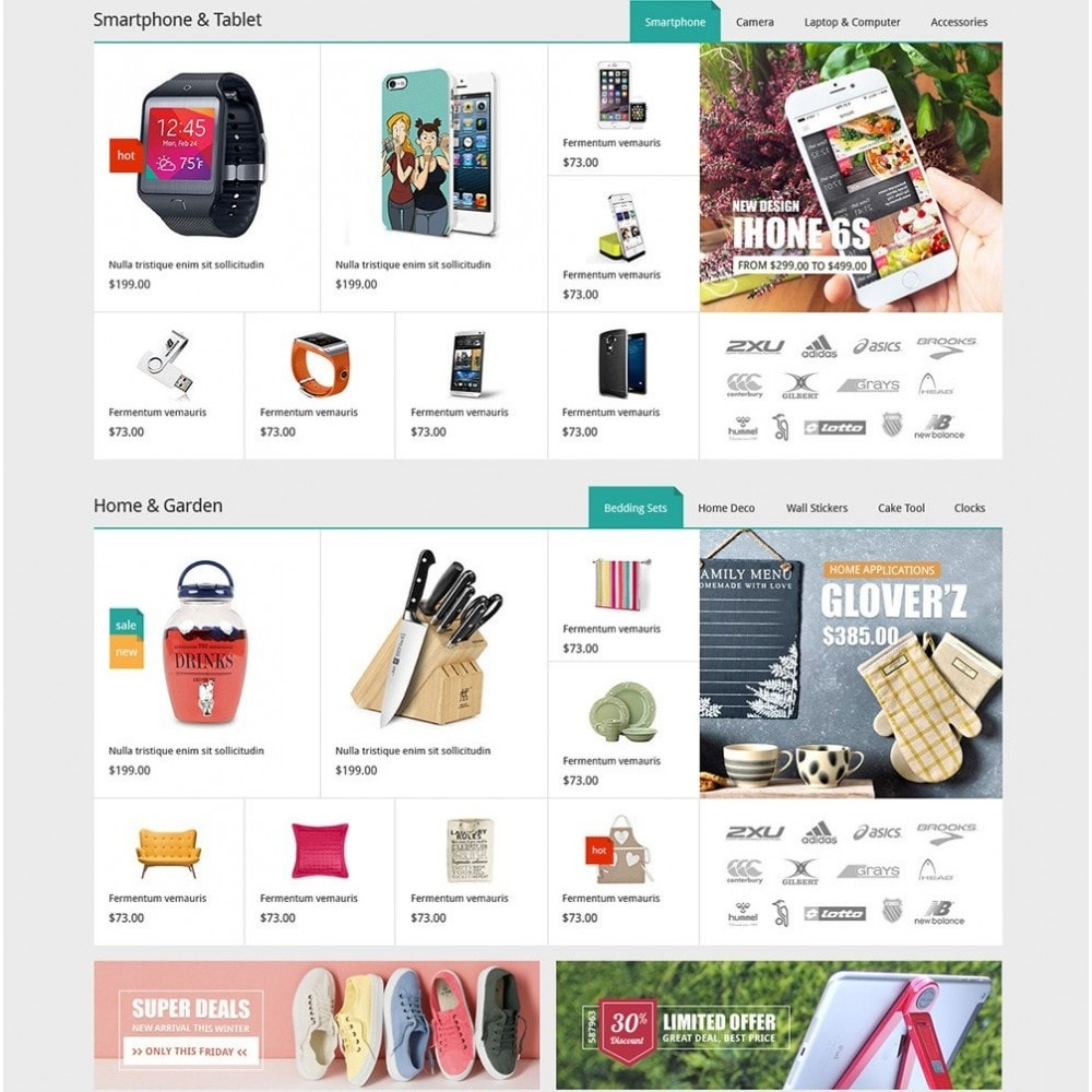 theme - Мода и обувь - DealMarket - Fashion Store - 4