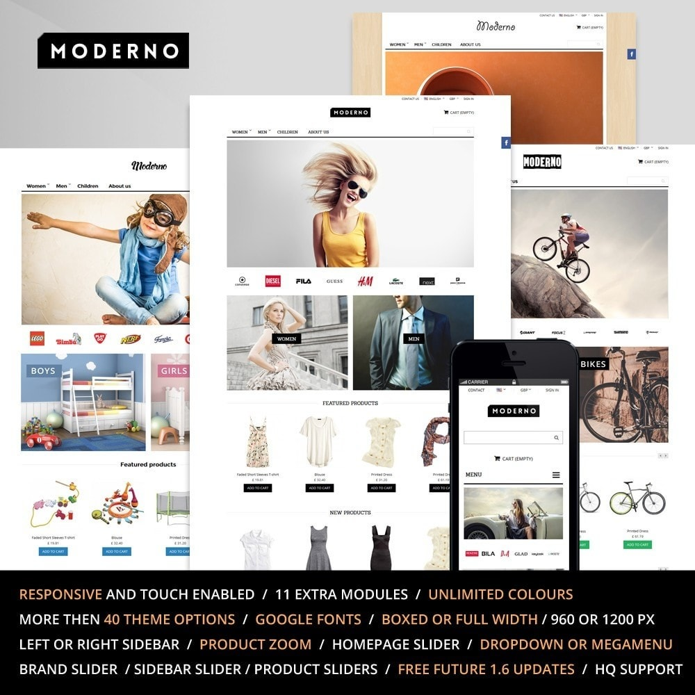 theme - Mode & Chaussures - Moderno - 1