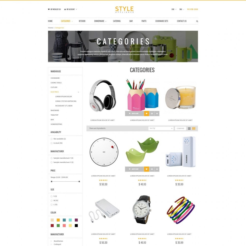 theme - Casa & Giardino - Kitchen & Home Appliances Responsive PrestaShop Theme - 2