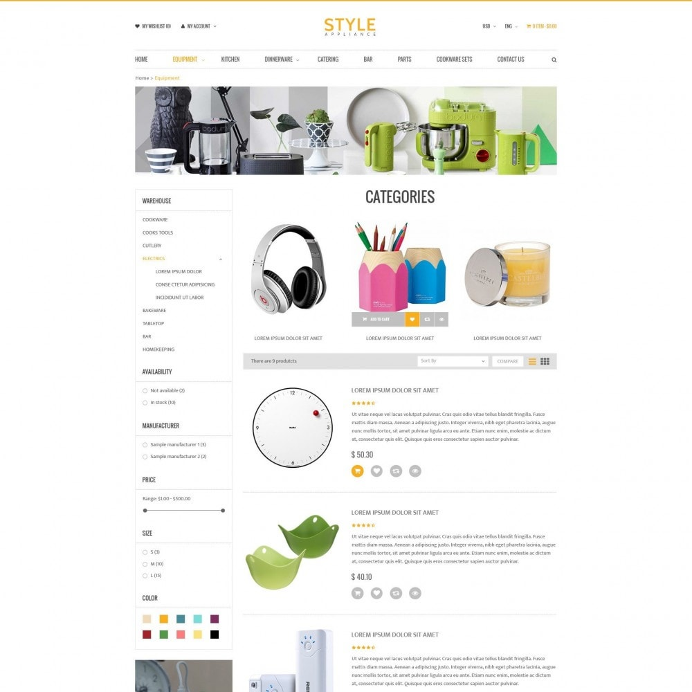 theme - Casa & Giardino - Kitchen & Home Appliances Responsive PrestaShop Theme - 3