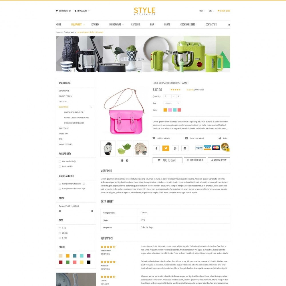 theme - Casa & Giardino - Kitchen & Home Appliances Responsive PrestaShop Theme - 4