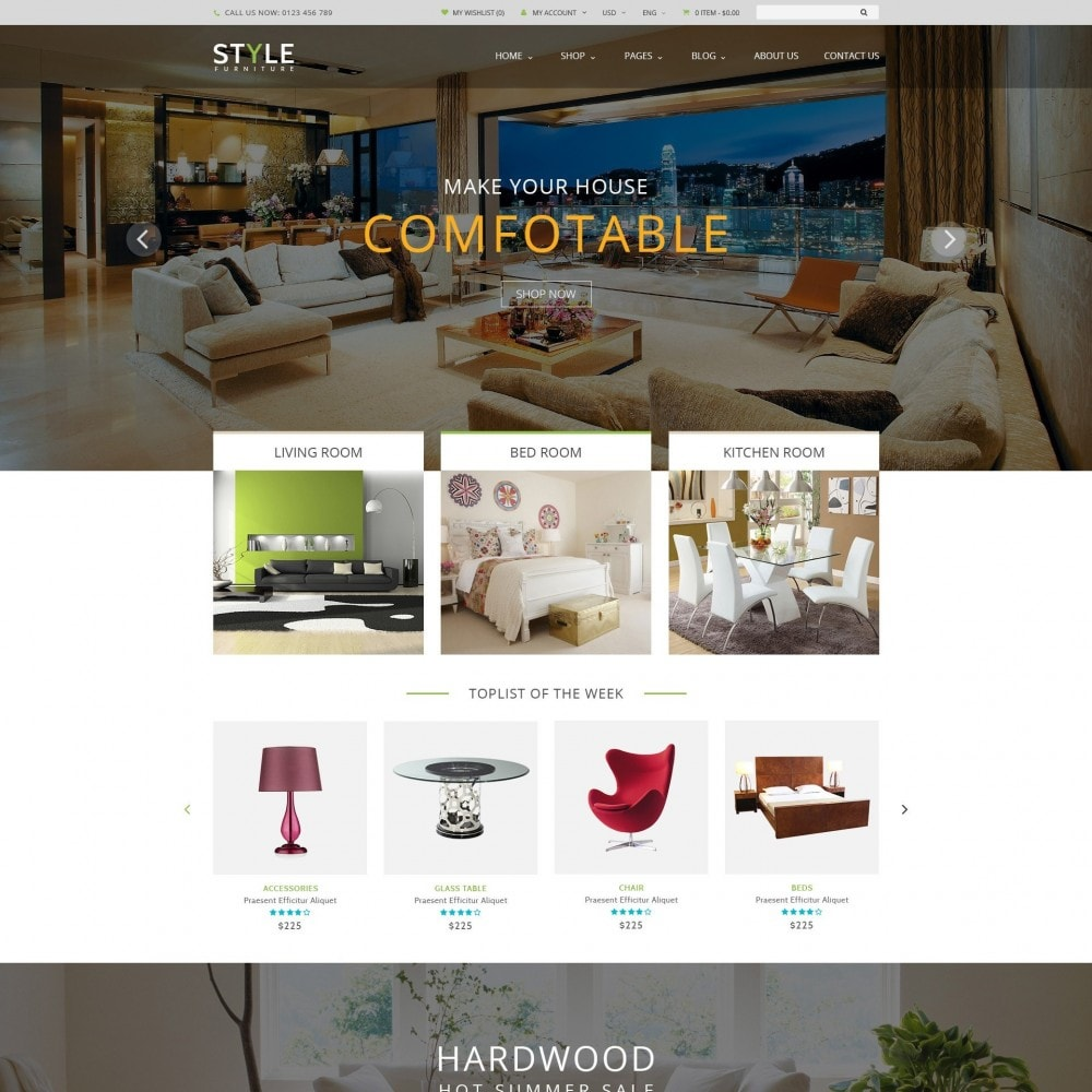 theme - Maison & Jardin - Responsive Furniture & Interior PrestaShop Theme - 1