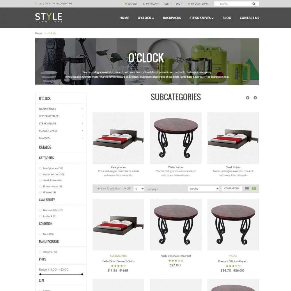 theme - Casa & Giardino - Responsive Furniture & Interior PrestaShop Theme - 2