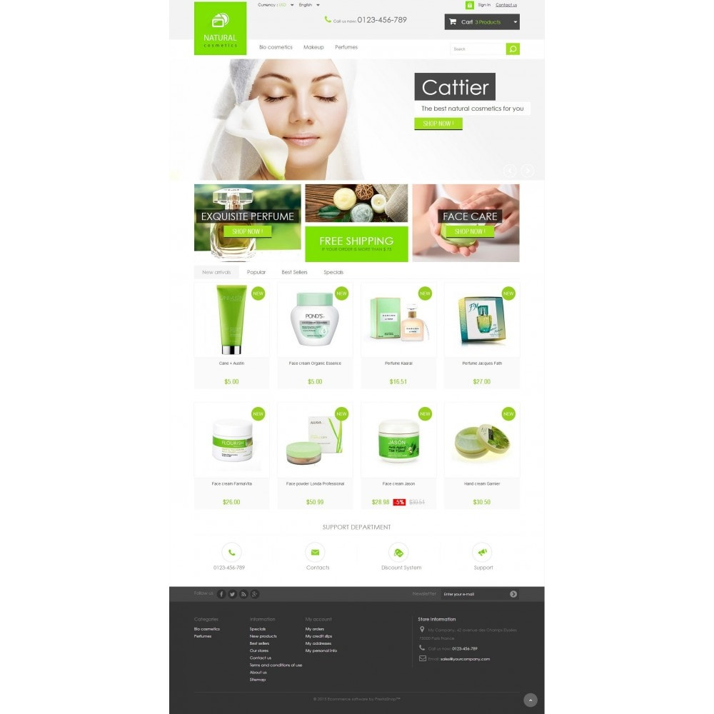 theme - Health & Beauty - Natural Cosmetics 1.6 Responsive - 2