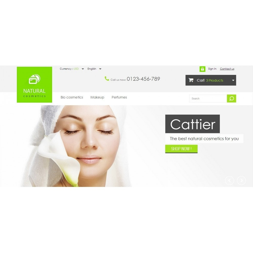 theme - Health & Beauty - Natural Cosmetics 1.6 Responsive - 3