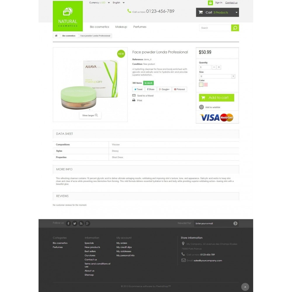 theme - Health & Beauty - Natural Cosmetics 1.6 Responsive - 7