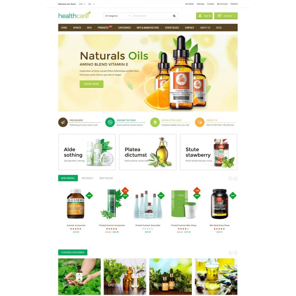 theme - Salute & Bellezza - HealthCare - Bio & Medical Store - 2