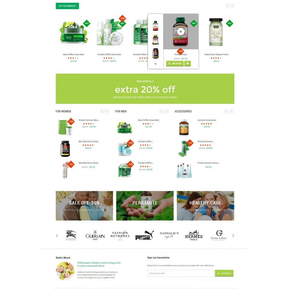 theme - Salute & Bellezza - HealthCare - Bio & Medical Store - 3