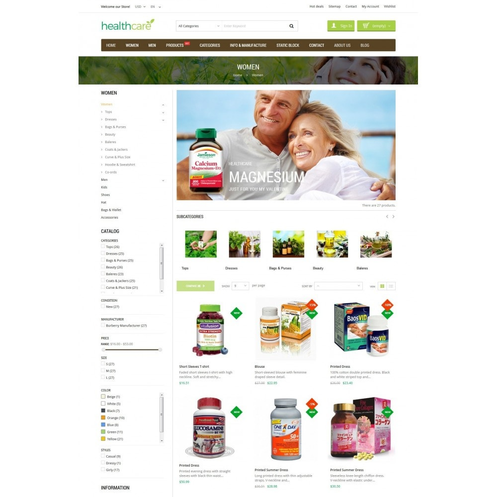 theme - Salute & Bellezza - HealthCare - Bio & Medical Store - 4