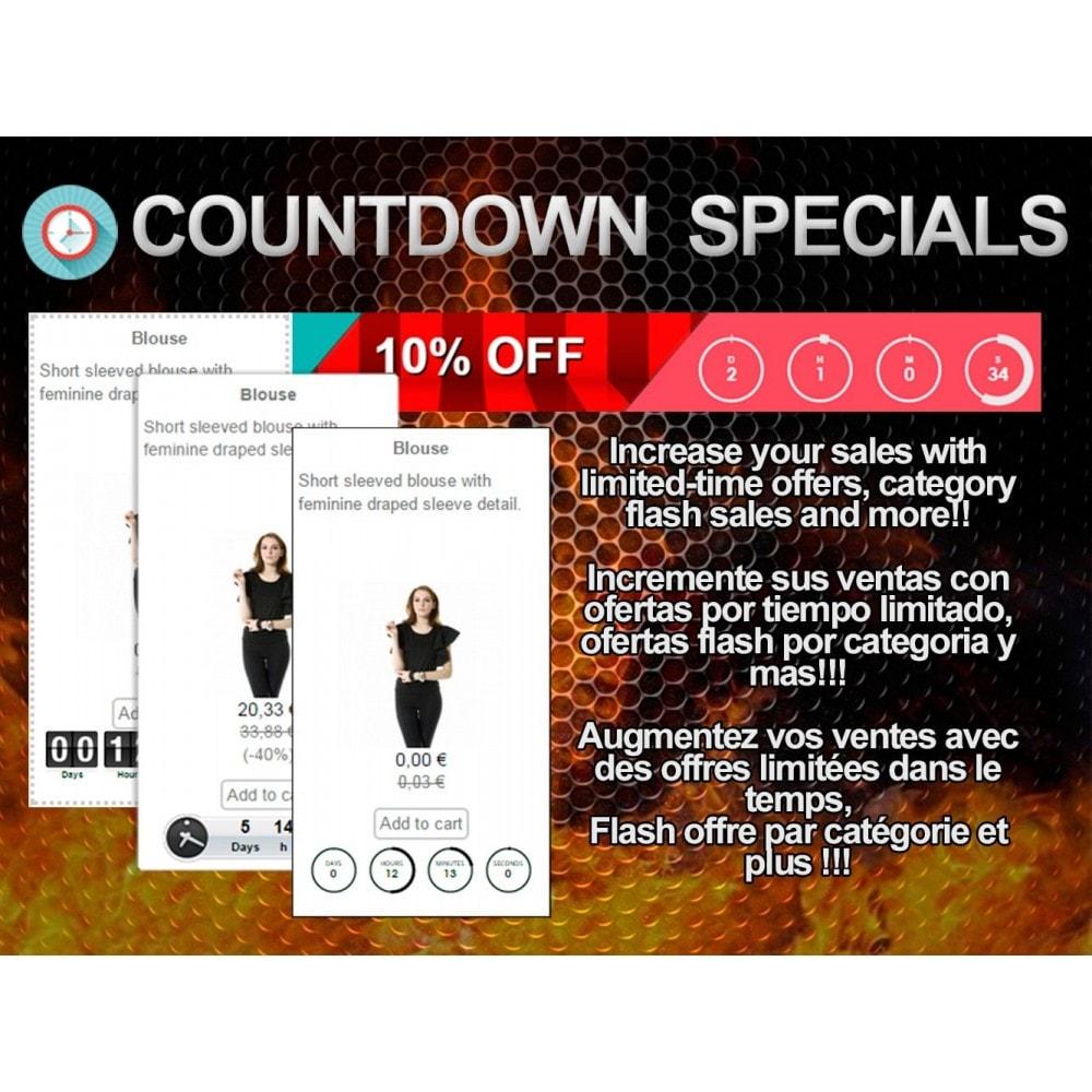 module - Ventes Flash & Ventes Privées - Countdown Specials - Flash sales - 1