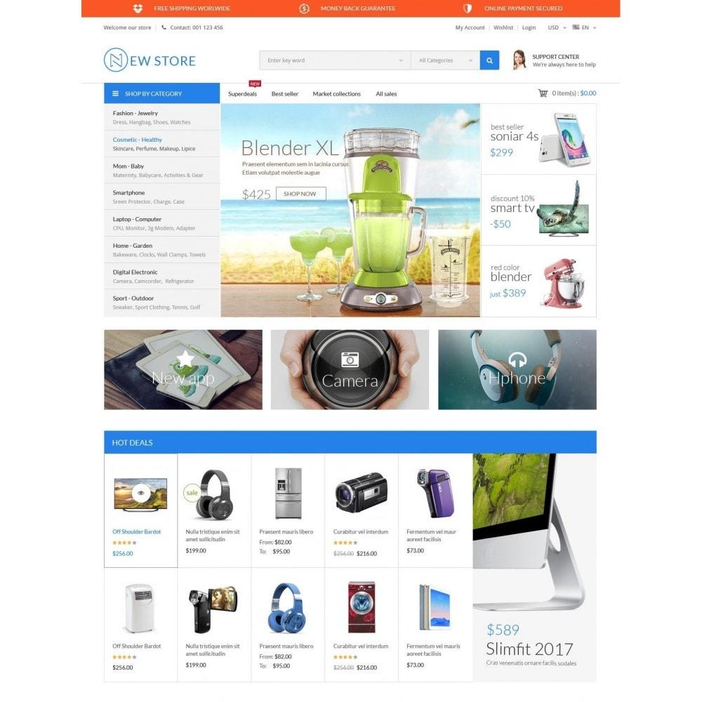 theme - Elektronika & High Tech - ExtraStore - Houseware Electronic - 2